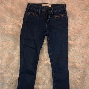 Gap ankle skinny jeans